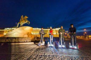 Экскурсия на сегвее О главном в Петербурге